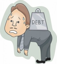 high cost of debt
