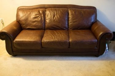 furniture used the loveseat couch jackpot new sofa brown