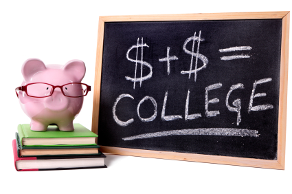 Piggy Bank with college
