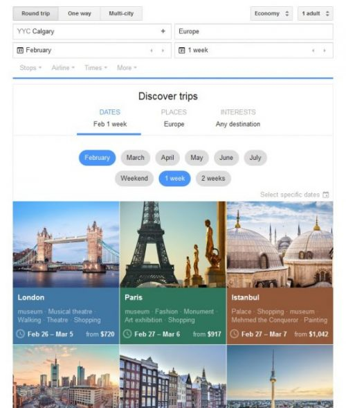 discover trips