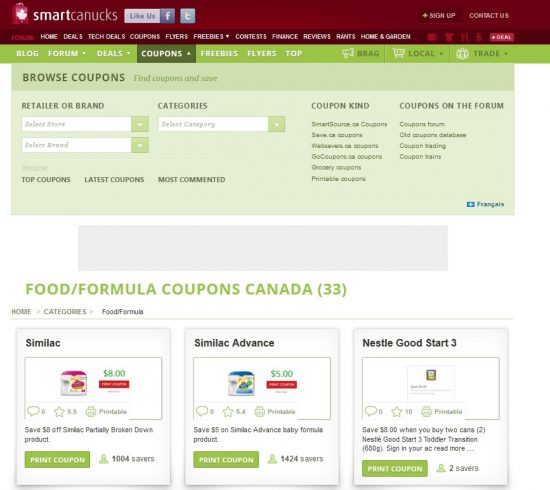 smart canucks coupons is a way to save with your baby