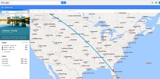 us flight map