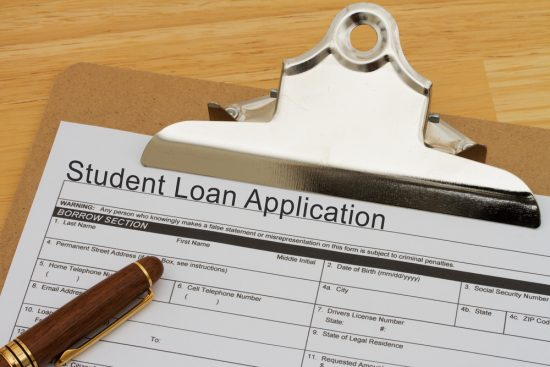 Federal Student Loan Application weighing you down