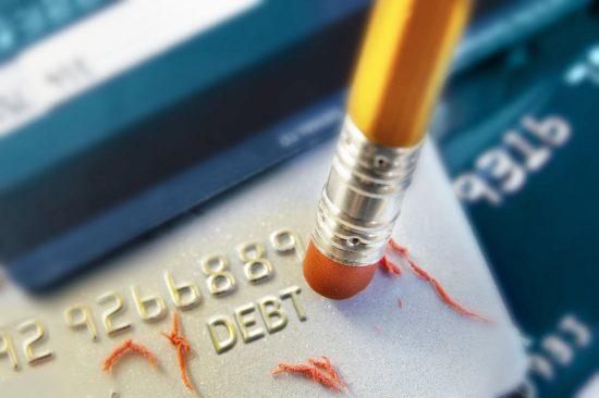 erase debt payments