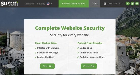 sucuri security malware and firewall