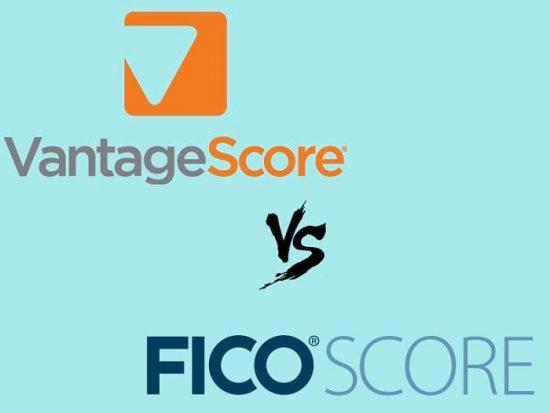 vantage vs fico score