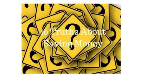 10 Truths about Saving Money