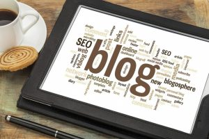 add a blog to your business website