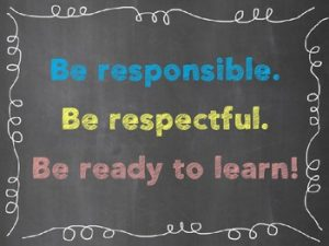 be respectable to others