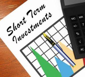Good short term investment options