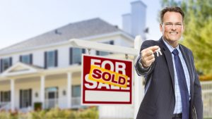 work with a real estate broker