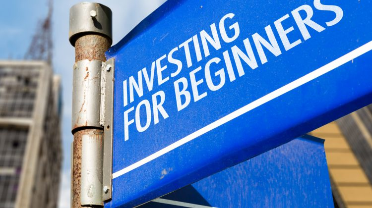 Investing For Beginners written on road sign